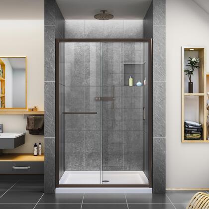 Infinity Z Shower Door 48 ORB