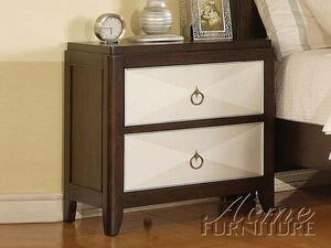 Acme Furniture 19963 Audry Series Rectangular Wood Night Stand