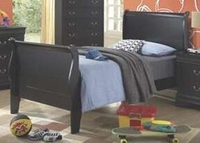 Coaster 201071T Louis Philippe Series  Twin Size Sleigh Bed