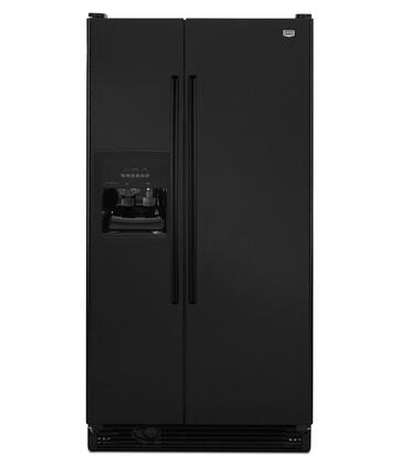 "Maytag MSF25D2EA 36"" Freestanding Side-By-Side Refrigerator With 25 Cu. Ft. Capacity, PUR(R) Ice/Water Filtration, Wire Freezer Shelves, Covered Dairy Compartment, Freezer Door Bins and Control Lockout"
