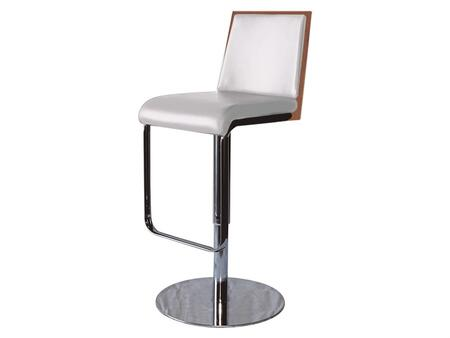 Casabianca CBF3179WAL Modelo Series Residential Faux Leather Upholstered Bar Stool