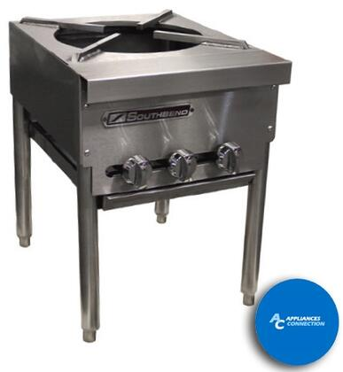 Southbend SPRJ Platinum Series Stock Pot with All Welded Steel Construction and Three-Ring Burner, Up to 120000 BTUs (NG/LP)