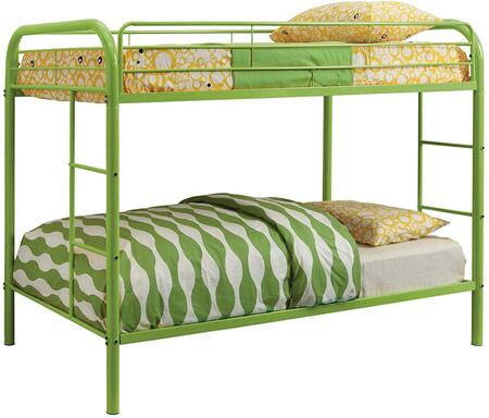 Furniture of America CMBK1032AG Rainbow Series  Twin Size Bed