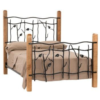 Stone County Ironworks 900983  Twin Size Complete Bed