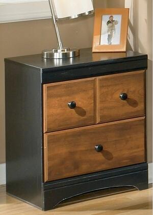Milo Italia BR21686 Tucker Series  Wood Night Stand