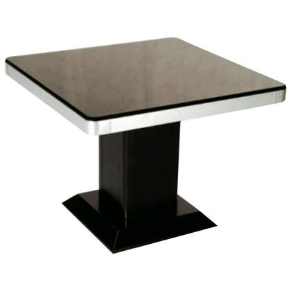 Chintaly MONIQUELT Monique Series Modern Square End Table