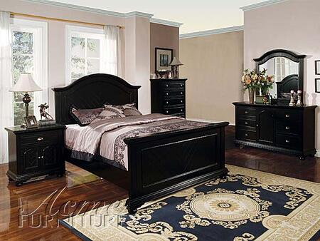 Acme Furniture 04740Q Newville Series  Sleigh Bed