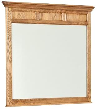 Intercon Furniture ALBR5391BASC Alta Series Rectangle Portrait Dresser Mirror