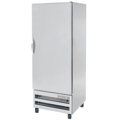 Beverage Air RID18 27 Inches One Section [Solid Door] Pass-Through Refrigerator
