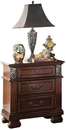 Acme Furniture 22773 Manfred Series Rectangular Wood Night Stand