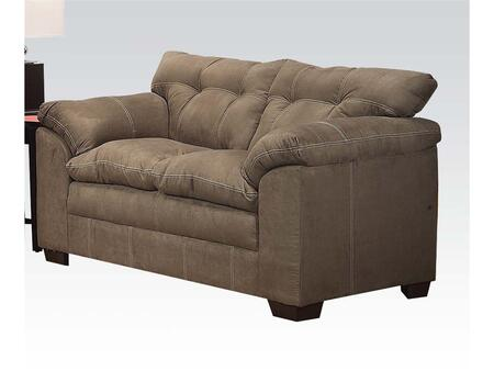 Acme Furniture 50371 Lucille Series Microfiber Stationary Loveseat