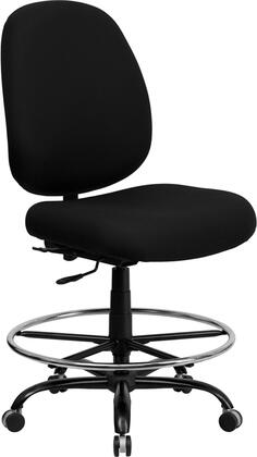 "Flash Furniture WL715MGBKDGG 29.5"" Contemporary Office Chair"