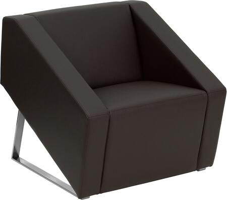 """Flash Furniture ZBSMARTBROWNGG 30"""" Contemporary Office Chair"""
