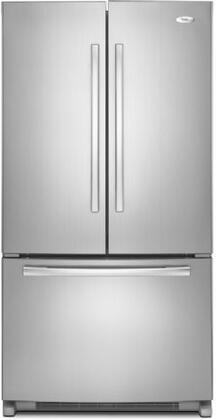 "Whirlpool GX5FHDXVY 36"" Gold Series  French Door Refrigerator with 24.8 cu. ft. Total Capacity 4 Glass Shelves"