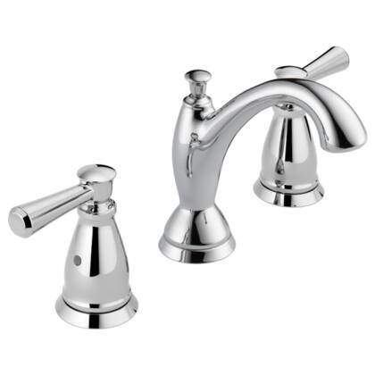 Linden  3593-MPU-DST Delta Linden: Two Handle Widespread Lavatory Faucet in Chrome