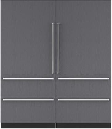 Sub-Zero 710461 Side-By-Side Refrigerators