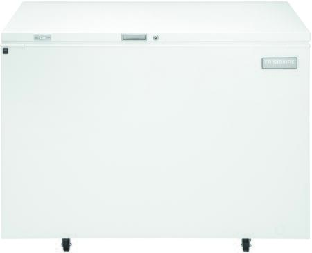 Frigidaire FCCS151FW Commercial Series Chest Counter Depth Freezer with 14.8 cu. ft. Capacity in White