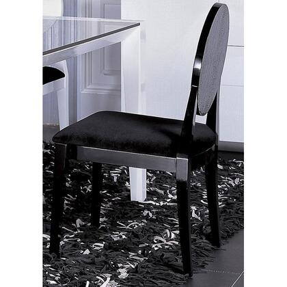 VIG Furniture VGUNAA018B Armani Xavira Series Modern Fabric Wood Frame Dining Room Chair