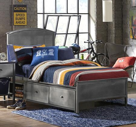 Hillsdale Furniture 1265BFRPS Urban Quarters Series  Full Size Panel Bed