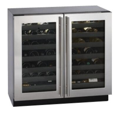 "U-Line 3036WCWCS13 35.44"" Wine Cooler, in Stainless Steel"