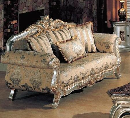 Yuan Tai VY2200L Victory Series Fabric  with Wood Frame Loveseat