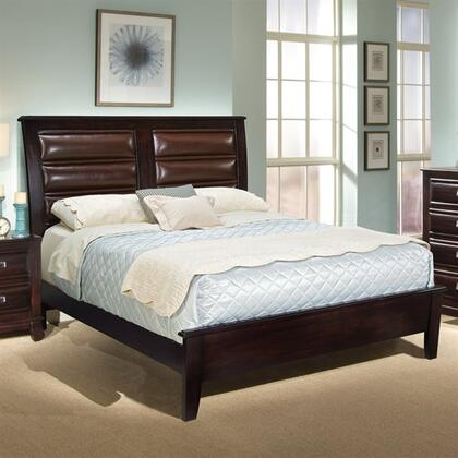 American Woodcrafters 2200066PAN  King Size Panel Bed