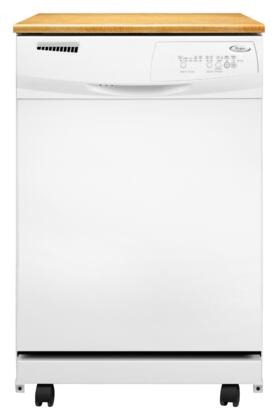 Whirlpool DP1040XTXQ 1000 Series Portable Fully Integrated Dishwasher