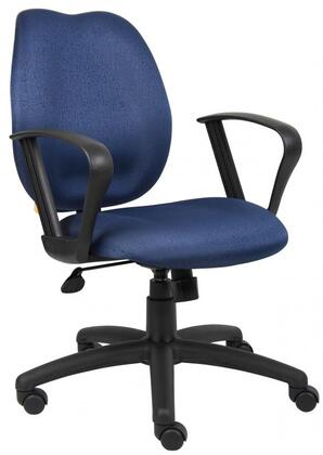 "Boss B1015BE 26"" Adjustable Contemporary Office Chair"