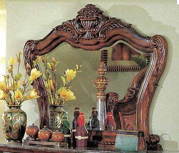 Yuan Tai ZA6806M Zachary Series Arched Landscape Dresser Mirror