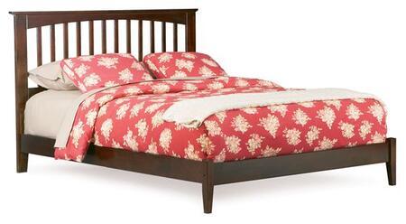 Atlantic Furniture BROOKLYNOFKINGAW Brooklyn Series  King Size Bed