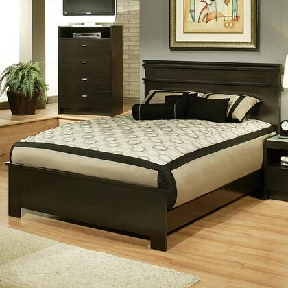 Sandberg 335B Times Square Series  California King Size Panel Bed