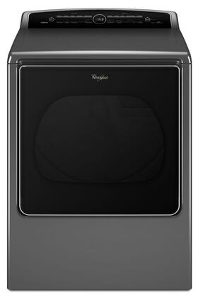 Whirlpool WED8500Dx 8.8 cu. ft. Cabrio High-Efficiency Electric Dryer with Advanced Moisture Sensing, Quad Baffles, and EcoBoost Option in