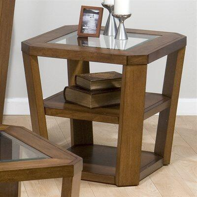 Jofran 0533 Contemporary Square 0 Drawers End Table