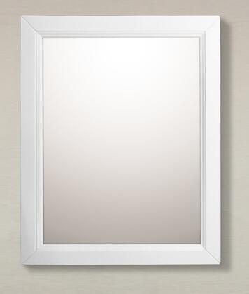 Bellaterra Home 7610MWH  Rectangular Portrait Bathroom Mirror