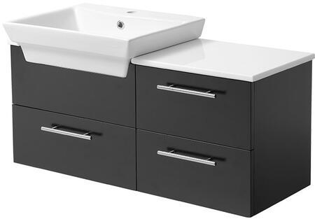 Fresca FCB6163XXCWHV Caro Modern Bathroom Vanity with Sink