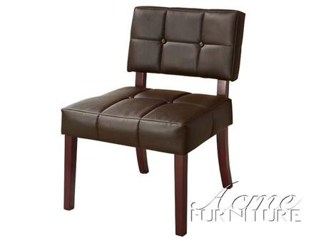 Acme Furniture 10087 Ezrela Series Accent Chair Fabric Accent Chair