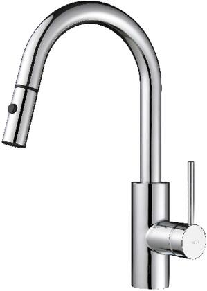 Kraus KPF2620X Oletto Series Pull-Down Kitchen Faucet with Solid Brass Costruction, QuickDock Technology, and Ceramic Cartridge