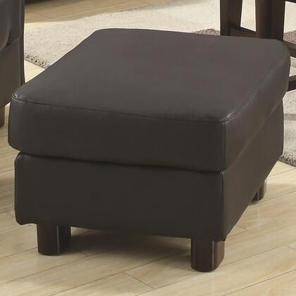 Coaster 504454 Sawyer Series Contemporary Bonded Leather Ottoman