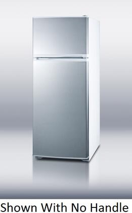 Summit FF1062WSSHV  Counter Depth Refrigerator with 9.41 cu. ft. Capacity in Stainless Steel
