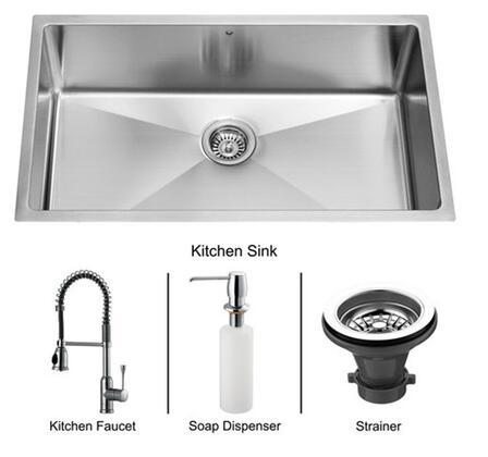 Vigo VG15081 Drop In Sink