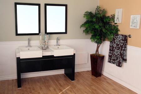Bellaterra Home Vanity and Mirror Set