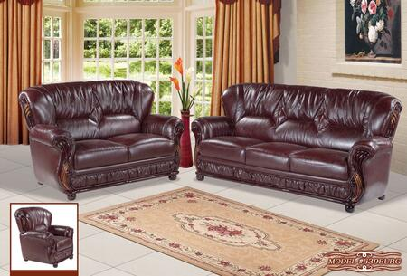 Meridian 639BURGSLC Mina Living Room Sets