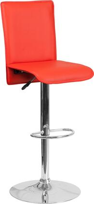Flash Furniture CHTC31206REDGG Residential Vinyl Upholstered Bar Stool