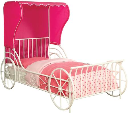 Furniture of America CM7715T Charm Series  Twin Size Bed