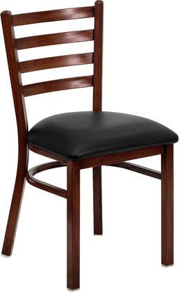 Flash Furniture FDDG694BLADMAHBLKVGG Contemporary Vinyl Metal Frame Dining Room Chair