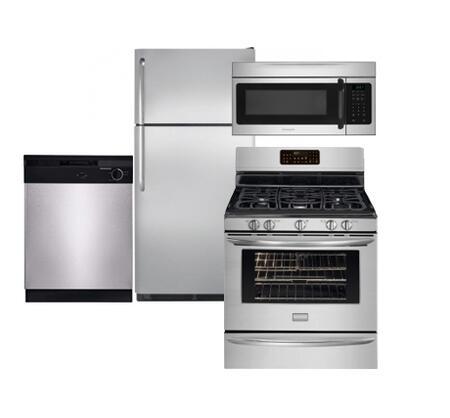 Frigidaire NFTR18X4LSKIT1 Top Freezer Refrigerators
