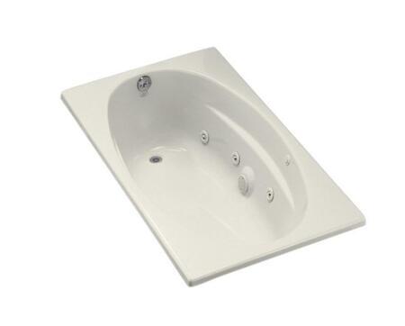 Kohler K-1139-H-96 Biscuit 60x36 Drop In Whirlpool