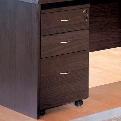 "Coaster 800254 16"" Wood Casual File Cabinet"