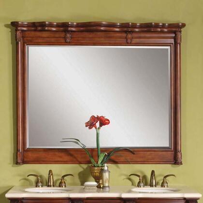 Silkroad Exclusive WFH0199M58  Rectangle Landscape Wall Mirror