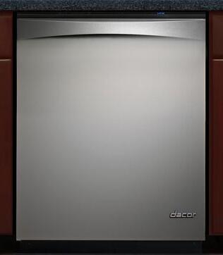 Dacor PD24SG Preference Series Built-In Fully Integrated Dishwasher with in Grey